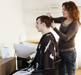 Frisør og hårolog Lykke & velvære i Helsingør Nordsjælland