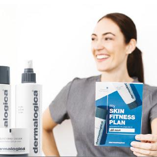 Skin fitness plan Dermalogica hudpleje expert hos Lykke & velvære i Helsingør Nordsjælland