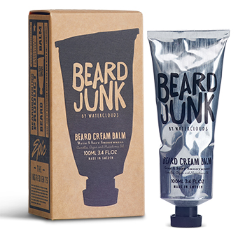 Beard Cream Balm 100 ml fra Waterclouds hos Lykke & velvære i Helsingør Nordsjælland