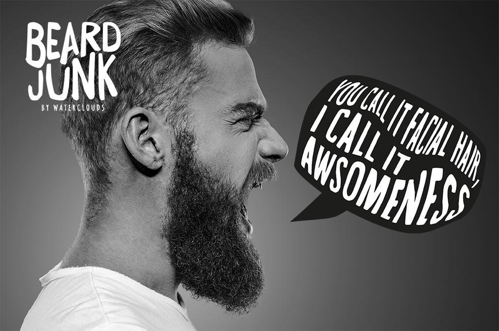 Beard Junk by Waterclouds hos Lykke & velvære i Helsingør Nordsjælland Awsomeness