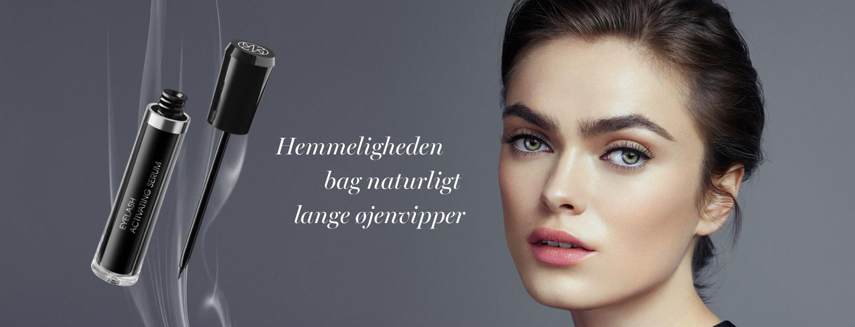 M2 Beauté eyelash activating serum hos Lykke & velvære i Helsingør Nordsjælland