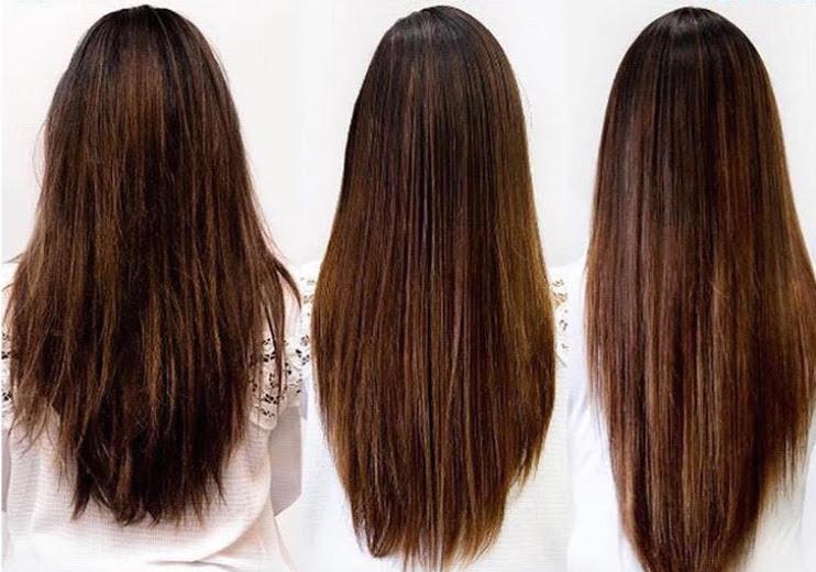 spaltet hår