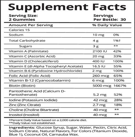 vingummi bamse vitaminer
