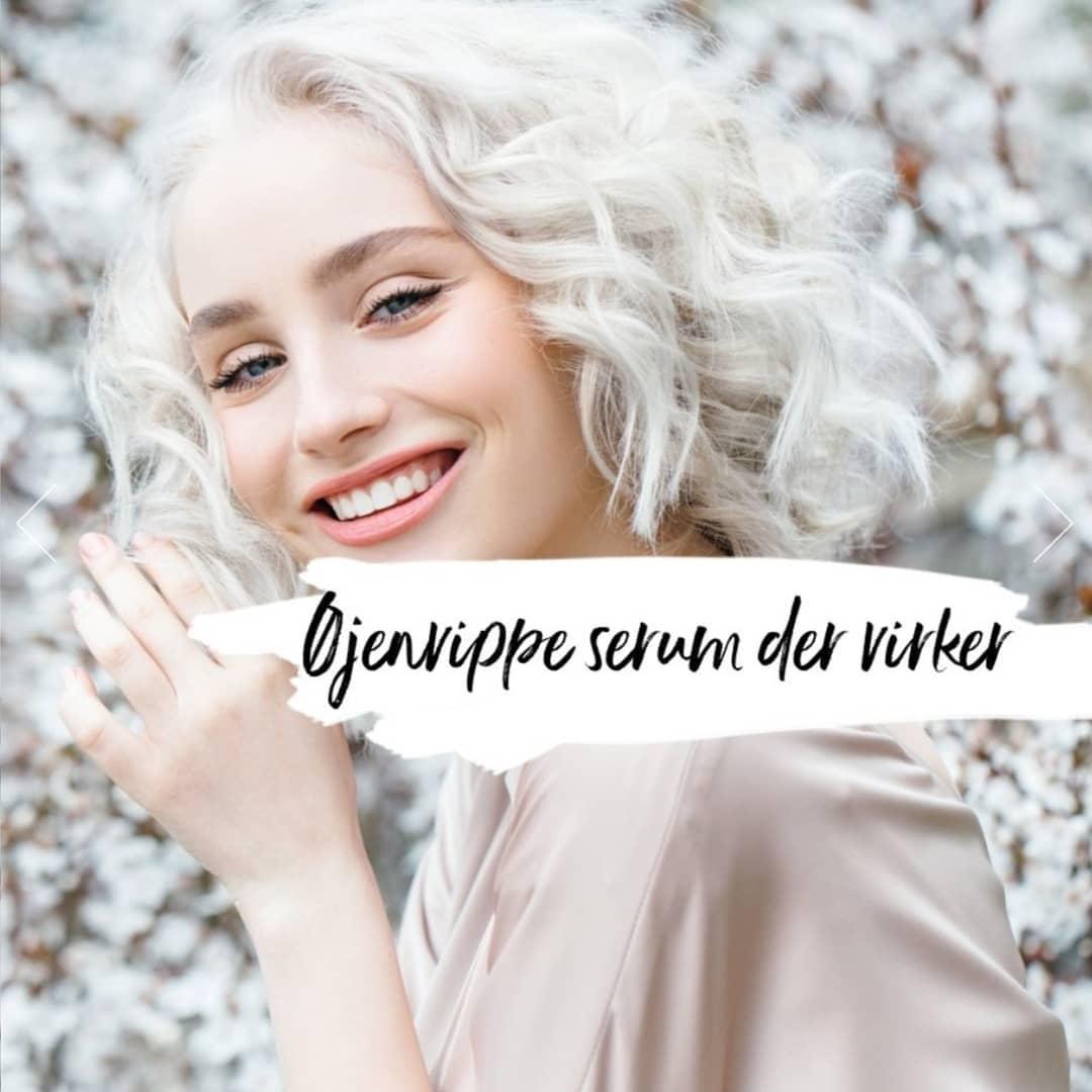 Øjenvippe serum fra Sanzi Beauty vippeserum lashserum eyelash serum hos Lykke & velvære i Helsingør Nordsjælland Lykke og velvære