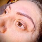 Permanent makeup PMU bryn og liner brows eyeliner øvre nedre hos Lykke & velvære i Helsingør Nordsjælland