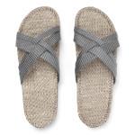 Grey stripes Shangies sandal forhandler Lykke & velvære Helsingør Nordsjælland