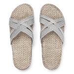 Shangies White stripes sandal forhandler Lykke & velvære Helsingør Nordsjælland