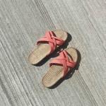 Shangies Sunset orange sandal forhandler Lykke & velvære Helsingør Nordsjælland 5