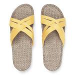 Shangies Sunlight yellow sandal forhandler Lykke & velvære Helsingør Nordsjælland