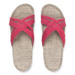 Shangies Rasperry red sandal forhandler Lykke & velvære Helsingør Nordsjælland