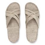 Shangies Beige Cream white sandal forhandler Lykke & velvære Helsingør Nordsjælland