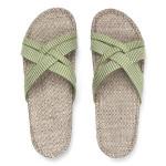 Shangies Green leaves sandal forhandler Lykke & velvære Helsingør Nordsjælland