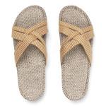 Shangies Mustard yellow sandal forhandler Lykke & velvære Helsingør Nordsjælland