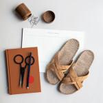 Shangies Mustard yellow sandal forhandler Lykke & velvære Helsingør Nordsjælland 3
