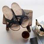 Shangies Charcoal  sandal forhandler Lykke & velvære Helsingør Nordsjælland 2