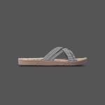 Shangies Black stripes sandal forhandler Lykke & velvære Helsingør Nordsjælland 1