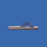 Shangies Blue stripes sandal forhandler Lykke & velvære Helsingør Nordsjælland 1