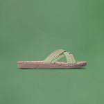 Shangies Green leaves sandal forhandler Lykke & velvære Helsingør Nordsjælland 1