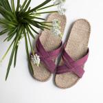 Shangies Dusty purple sandal forhandler Lykke & velvære Helsingør Nordsjælland 3