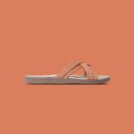 Shangies Orange stripes sandal forhandler Lykke & velvære Helsingør Nordsjælland 1
