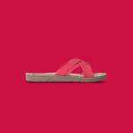 Shangies Raspberry red sandal forhandler Lykke & velvære Helsingør Nordsjælland 1