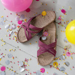Shangies Dusty purple sandal forhandler Lykke & velvære Helsingør Nordsjælland 4