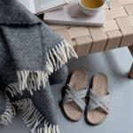 Shangies White stripes sandal forhandler Lykke & velvære Helsingør Nordsjælland 2