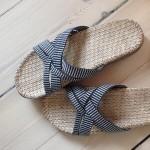 Shangies Black stripes sandal forhandler Lykke & velvære Helsingør Nordsjælland 3