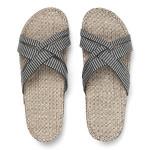 Shangies Black stripes sandal forhandler Lykke & velvære Helsingør Nordsjælland