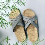 Grey stripes Shangies sandal forhandler Lykke & velvære Helsingør Nordsjælland 2