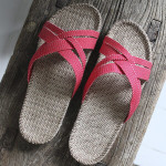 Shangies Raspberry red sandal forhandler Lykke & velvære Helsingør Nordsjælland 2