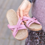 Shangies Pale pink sandal forhandler Lykke & velvære Helsingør Nordsjælland 3