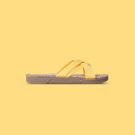 Shangies Sunlight yellow sandal forhandler Lykke & velvære Helsingør Nordsjælland 1