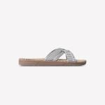 Shangies White stripes sandal forhandler Lykke & velvære Helsingør Nordsjælland 1